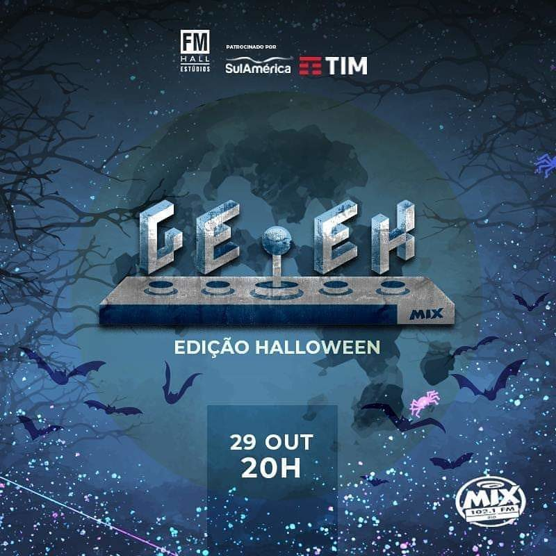 Halloween do Geek Mix